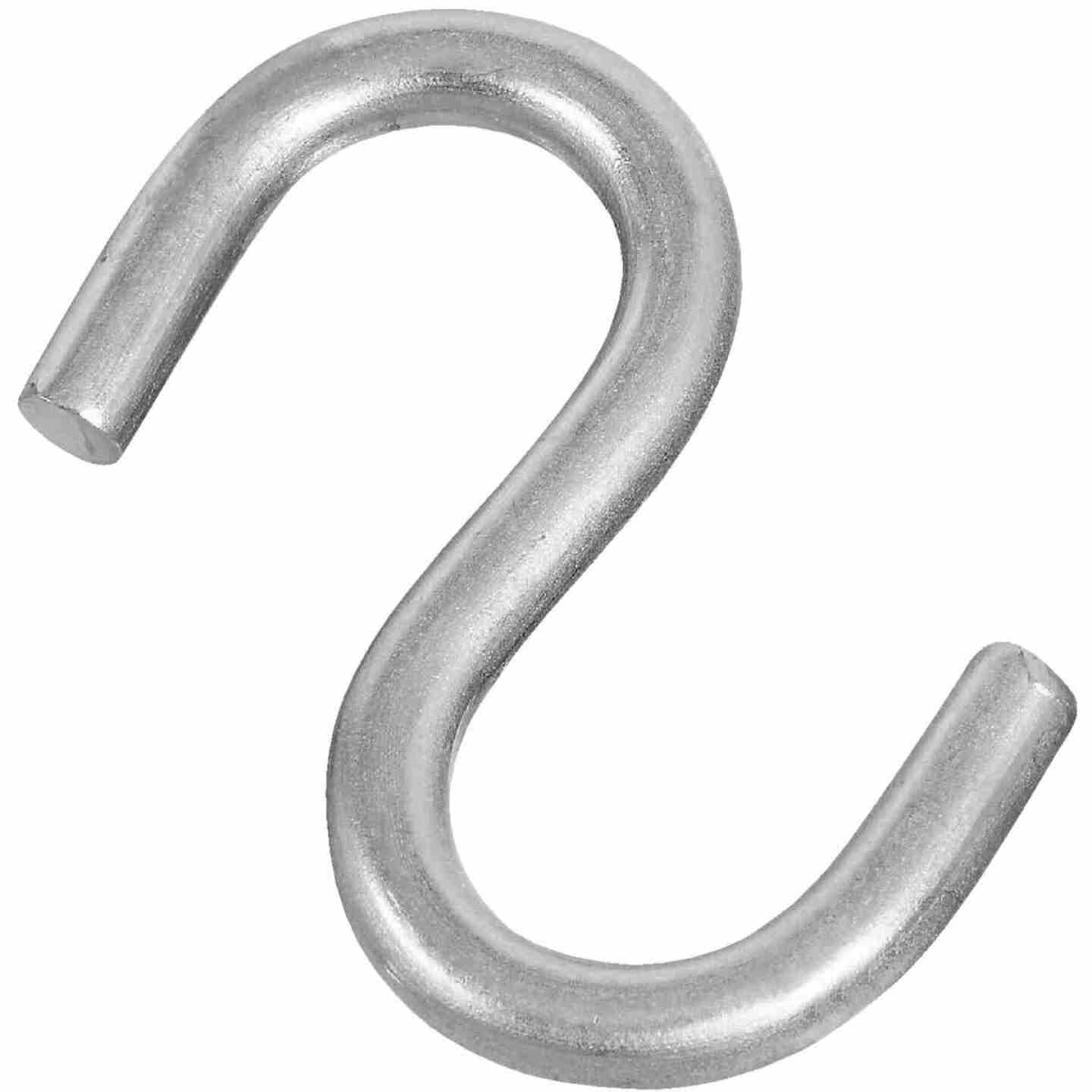 National 3 In. Stainless Steel Heavy Open S Hook Image 1