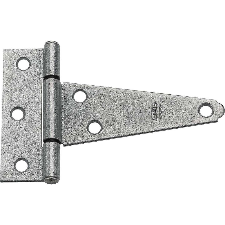 National 4 In. Galvanized Steel Heavy-Duty Tee Hinge Image 1