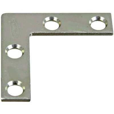 National Catalog 117 1-1/2 In. x 3/8 In. Zinc Flat Corner Iron