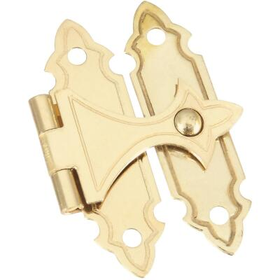 National Catalog V1840 Brass Decorative Catch (2-Count)