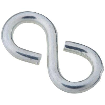National 7/8 In. Zinc Light Closed S Hook (8 Ct.)