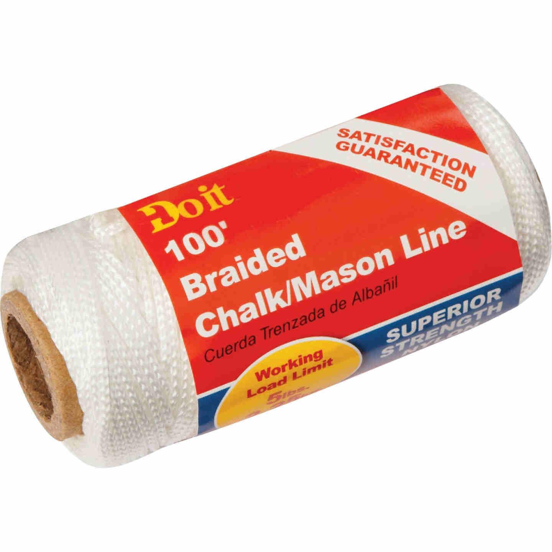 Do it 100 Ft. Braided Nylon Chalk/Mason Line Image 1