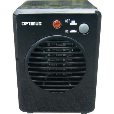 Optimus 250-Watt 120-Volt Portable Mini Ceramic Space Heater