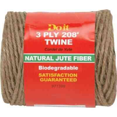 Do it 3-Ply x 208 Ft. Brown Jute Biodegradable Twine
